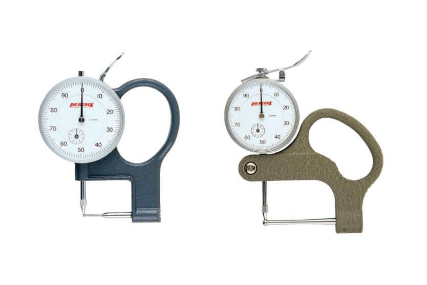 Đồng hồ đo độ dày ống Peacock model P-1, P-2