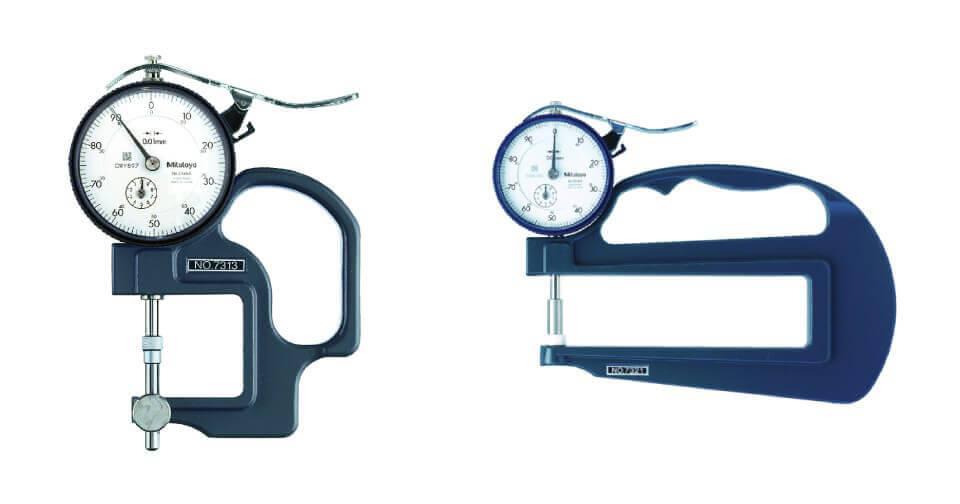 Dụng cụ đo độ dày cơ khí Mitutoyo 7313 và 7321