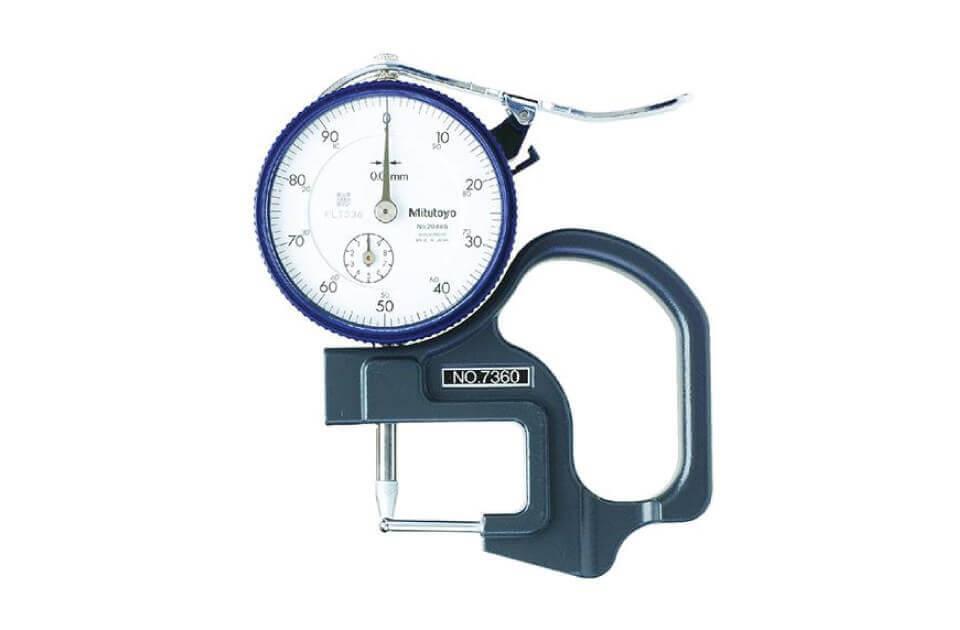 Dụng cụ đo độ dày cơ khí Mitutoyo 7360