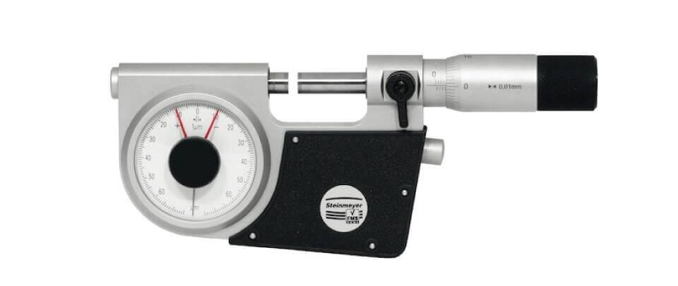 Panme đồng hồ đo ngoài Feinmess Suhl 0537