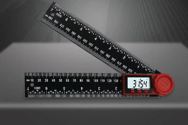 07 dạng thước đo góc theo độ (0~360°) được ứng dụng nhiều nhất