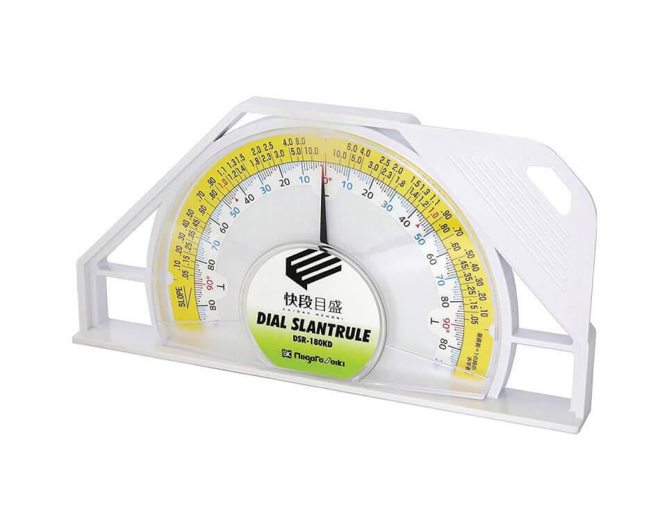 Thước thủy (nivo) đồng hồ đo góc vạch kaidan Niigata Seiki DSR-180KD