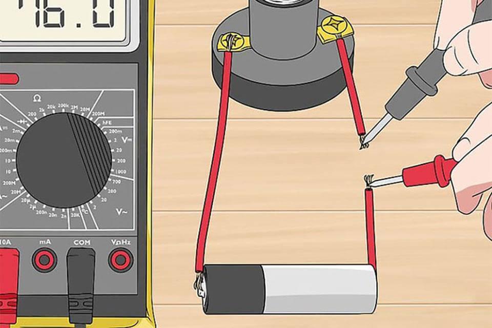Sử dụng đồng hồ vạn năng để đo dòng điện