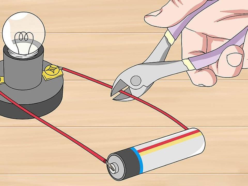 Sử dụng kìm cắt dây