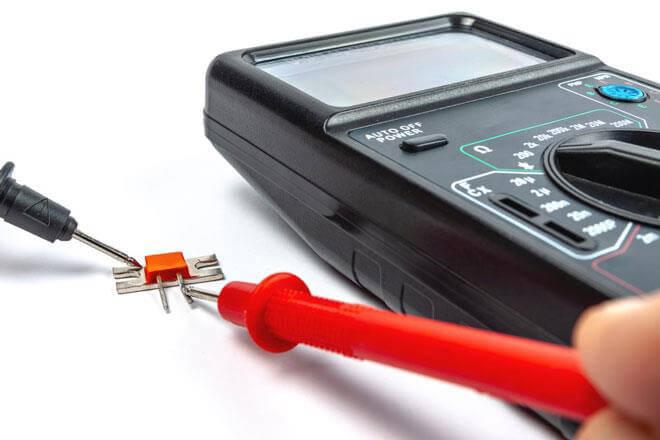 Cách test thông mạch bằng DMM