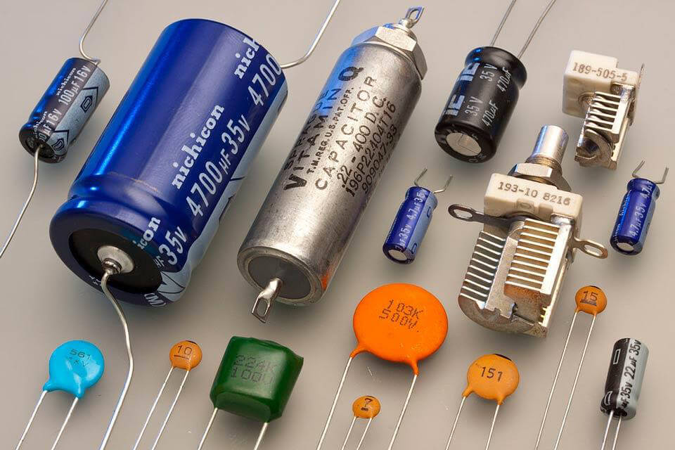 Các loại tụ điện phổ biến