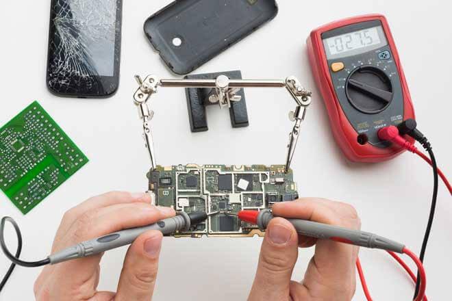 Sử dụng đồng hồ vạn năng để đo tụ điện