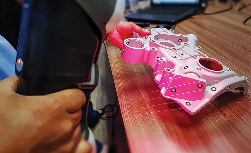 Máy đo lường 3D cầm tay là công nghệ đo lường nhẹ hơn, nhanh hơn