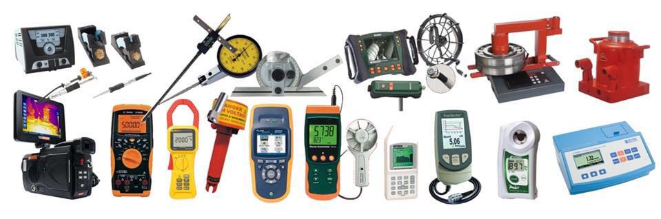 Một số mẫu thiết bị đo lường