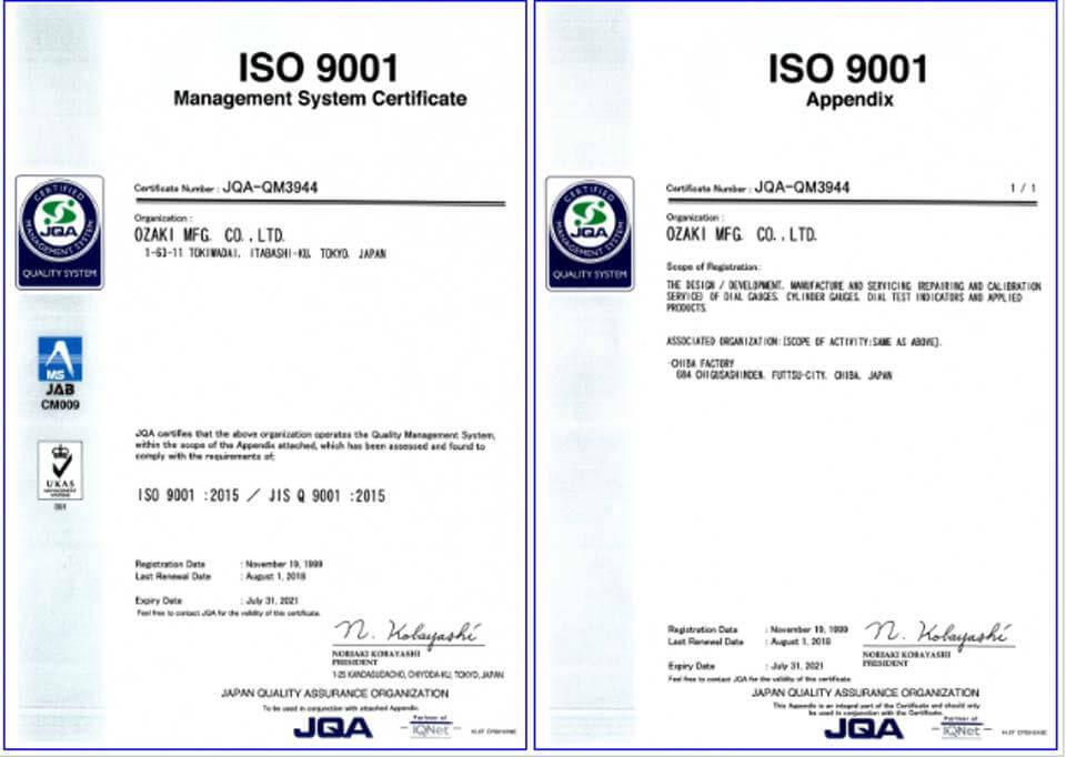 Tiêu chuẩn quốc tế theo ISO 9001