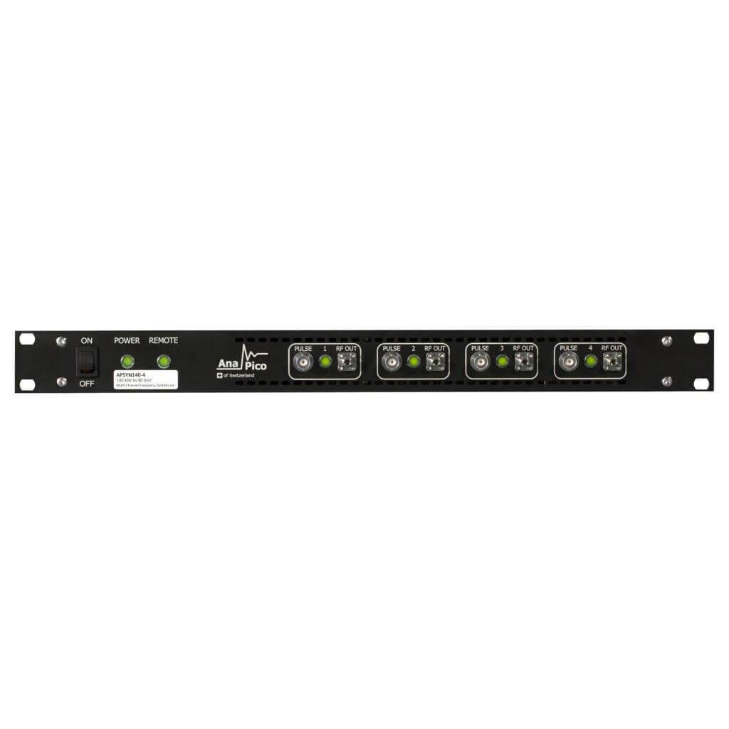Bộ tổng hợp tần số đa kênh, băng rộng 100 kHz  đến 43,5 GHz