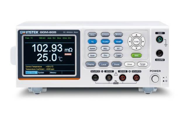 Đồng hồ đo milliohm với giao diện GPIB GW Instek GOM-804