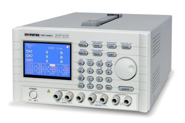 Nguồn DC lập trình tuyến tính với giao diện GPIB GW Instek PST-3201