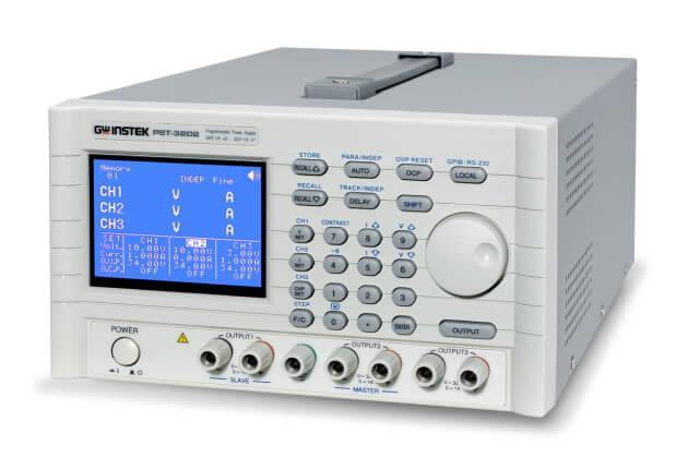 Nguồn DC lập trình tuyến tính với giao diện GPIB GW Instek PST-3202