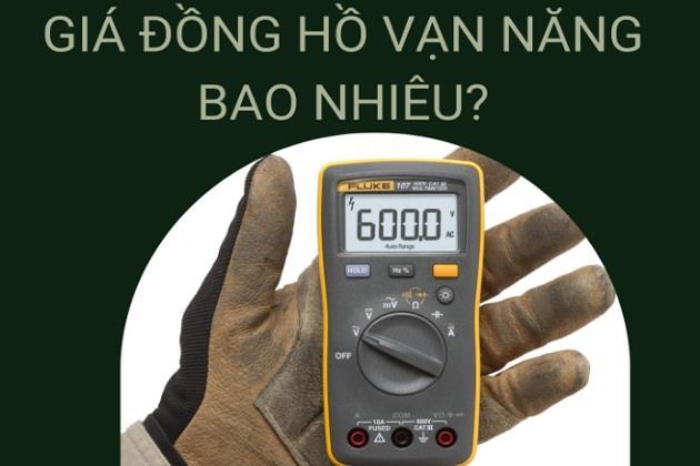 Giá đồng hồ vạn năng điện tử bao nhiêu? Mua đồng hồ đo điện tử nào tốt? Ở đâu?