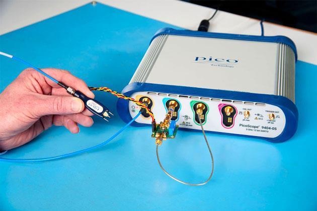 Giới thiệu máy hiện sóng cầm tay PicoScope 9300 với khả năng vận hành qua màn hình cảm ứng