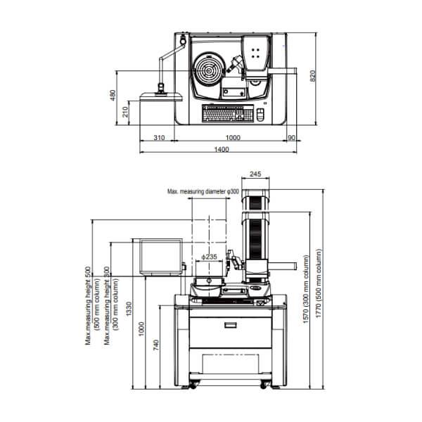 Máy đo độ tròn, độ trụ RONDCOM NEX Rs DX/SD_2