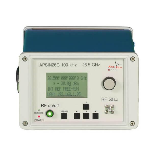Máy phát tín hiệu siêu cao tần đến 26,5 GHz APSINXXG_2