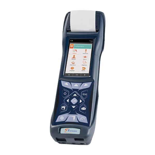 Máy đo khí đốt và khí thải công nghiệp di động E1500_1
