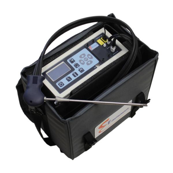 Máy đo khí đốt và khí thải công nghiệp di động E8500 Plus_1