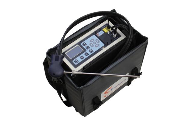 Máy đo khí đốt và khí thải công nghiệp di động E8500 Plus