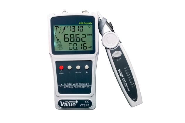 Máy đo công suất quang kèm thiết bị dò dây mạng Futronix VT24E