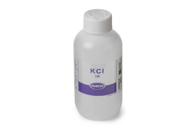 Dụng dịch đệm, tham chiếu pH Hach 3 M KCl, 250 mL