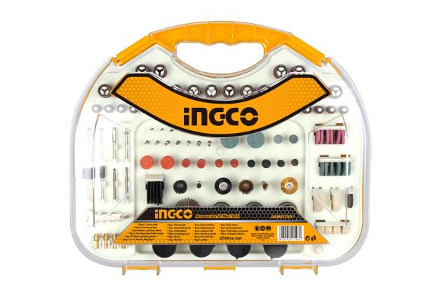 Bộ linh kiện khoan loại nhỏ 250 chi tiết INGCO AKMG2501