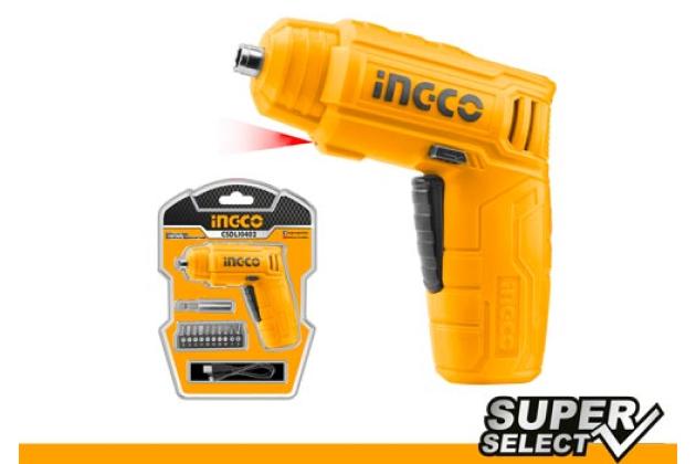 Máy bắn vít dùng pin INGCO CSDLI0402