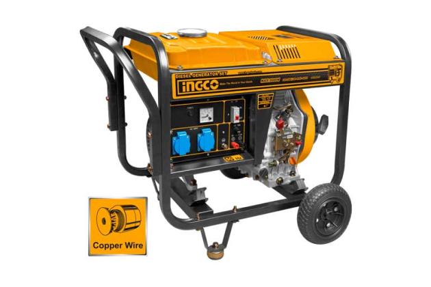 Máy phát điện dùng dầu diesel INGCO GDE30001