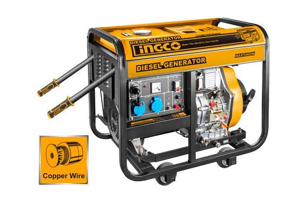 Máy phát điện dùng dầu diesel INGCO GDE50001