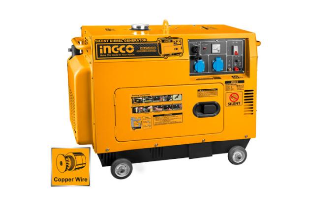 Máy phát điện dùng dầu diesel INGCO GSE50001