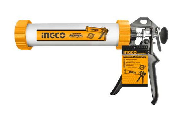 Súng bơm silicon ống nhôm INGCO HCG0109