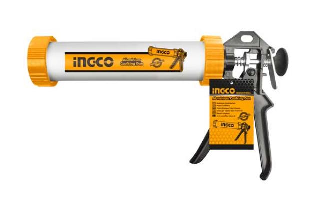 Súng bơm silicon ống nhôm INGCO HCG0112
