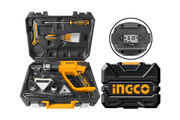 Bộ máy thổi nhiệt INGCO HG200028-1