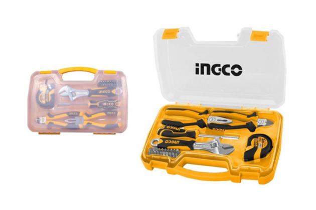 Bộ dụng cụ cầm tay 25 chi tiết INGCO HKTH10258