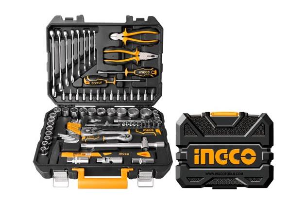 Bộ công cụ 77 chi tiết INGCO HKTHP20771