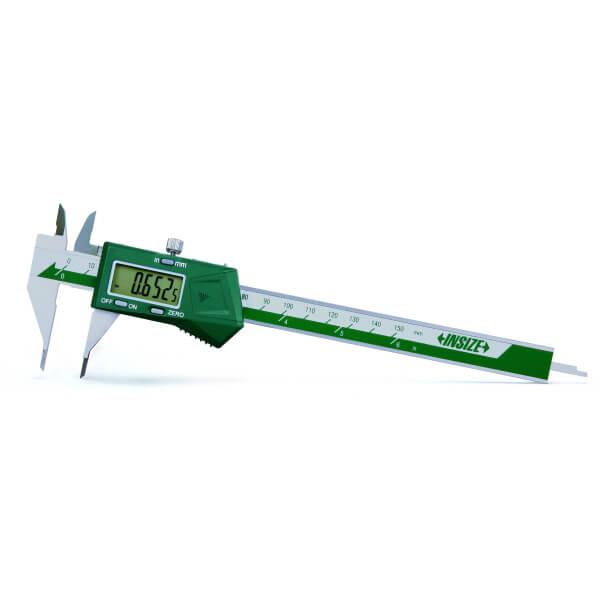 Thước kẹp điện tử mỏ nhọn dài Insize (Không chống nước) 1169_0