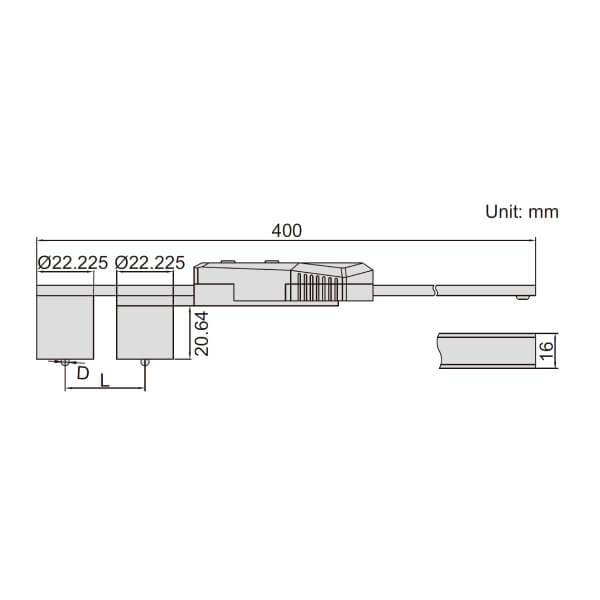 Thước kẹp điện tử tùy biến đầu bi Insize (Không chống nước) 1527_2