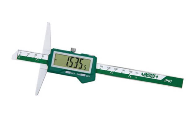 Dưỡng đo độ sâu điện tử tích hợp Bluetooth IP67 Insize 1542