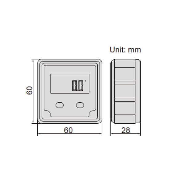 Thước thủy (nivo) điện tử đo độ dốc Insize 2170_3
