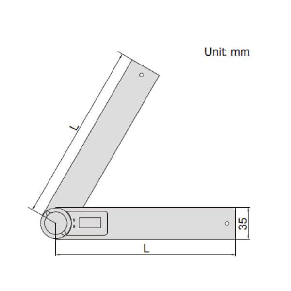 Thước đo góc điện tử Insize 2176_3