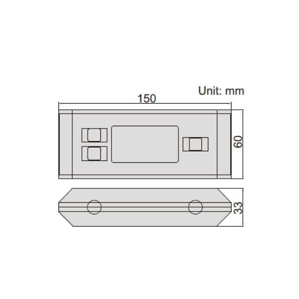 Thước thủy (nivo) điện tử đo độ dốc Insize 2179 _3