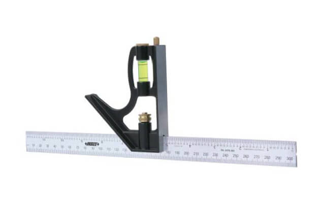 Bộ thước đo góc Insize 2276-300 (loại phổ thông)_1