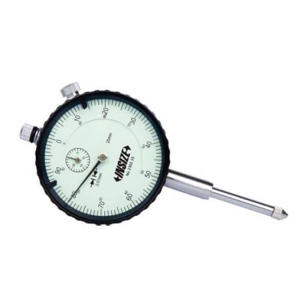 Đồng hồ so cơ khí hành trình dài loại cơ bản Insize 2302_3