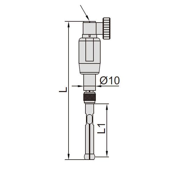 Đồng hồ đo lỗ kích thước nhỏ Insize 2426_3