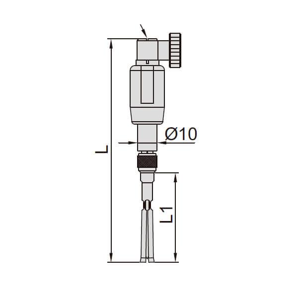 Đồng hồ đo lỗ kín kích thước nhỏ Insize 2427_3