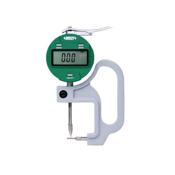 Dụng cụ đo độ dày ống điện tử Insize 2873
