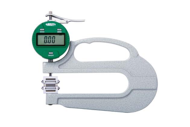 Thước đo độ dày điện tử dạng con lăn Insize 2877