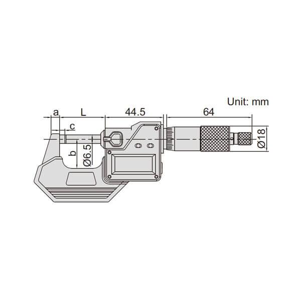 Panme điện tử đo ngoài Insize 3101_3